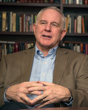 The Rev. Thomas V. Wolfe is president of The Iliff School of Theology. Photo courtesy of The Iliff School of Theology.