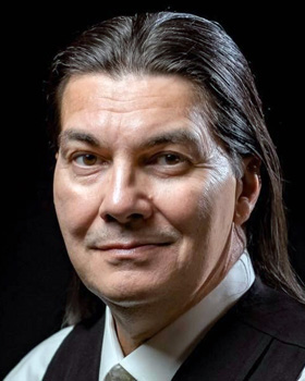 Curtis Zunigha is director of cultural resources for the Delaware Tribe of Indians, based in Bartlesville, Oklahoma. The Delaware Tribe is one of several groups that are descendants of the Lenape Indians. Photo courtesy of Curtis Zunigha.