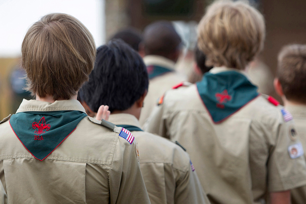 As a Nov. 16 deadline approaches, churches are being urged to file a legal document to shield them from any potential liability stemming from a class action lawsuit against Boy Scouts of America over past sexual abuse claims. The United Methodist Church charters more Scout organizations than any other denomination in the U.S. File photo by Mike DuBose, UM News.
