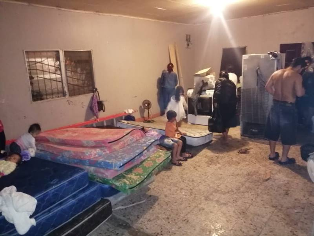 Algunas iglesias metodistas unidas están sirviendo de refugio a las familias damnificadas en las zonas afectadas por el huracán. Foto cortesía de la Misión Metodista Unida de Honduras.