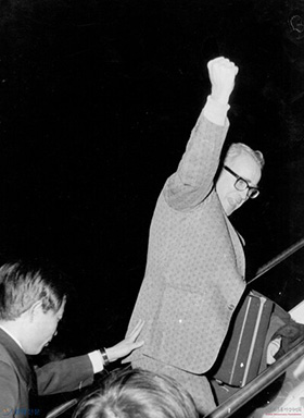 The Rev. George Ogle was deported from South Korea by Korean government on Dec. 14, 1974. File photo courtesy of the Korea Democracy Foundation.