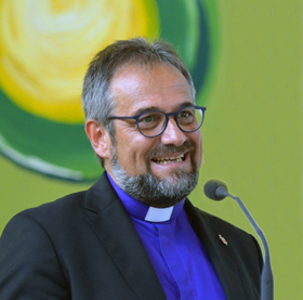 Germany Area Bishop Harald Rückert. 2018 file photo by Klaus Ulrich Ruof, United Methodist Communications Germany.