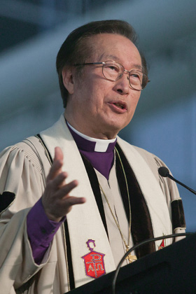 The Rev. Hae-Jong Kim. Photo by Mike DuBose, UM News. United Methodist News honors notable church members who died in 2020.