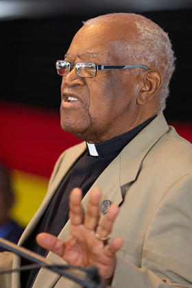 The Rev. John Wesley Z. Kurewa. Photo by Mike DuBose, UM News. United Methodist News honors notable church members who died in 2020.