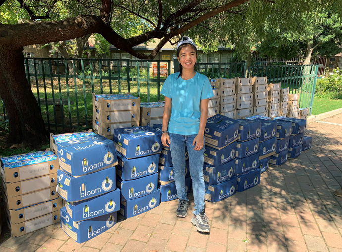 Chanmony Ek, a Cambodian United Methodist missionary in South Africa, says the coronavirus pandemic significantly altered her experience there, and she admits she worries about being stricken with the virus while away from her family. Photo courtesy of Chanmony Ek.