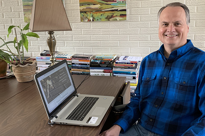 Retired United Methodist pastor Martin Thielen reaches out to skeptics and struggling Christians, offering help and solidarity through his website, Doubter's Parish. Photo courtesy of the Rev. Martin Thielen.