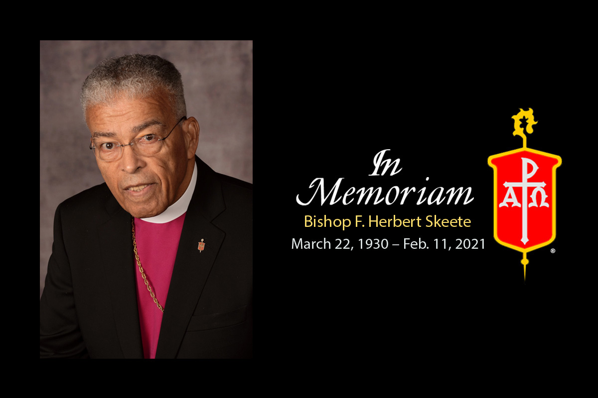 Bishop Skeete, a retired bishop of The United Methodist Church, passed away Feb. 11, 2021. Photo courtesy of the Council of Bishops.