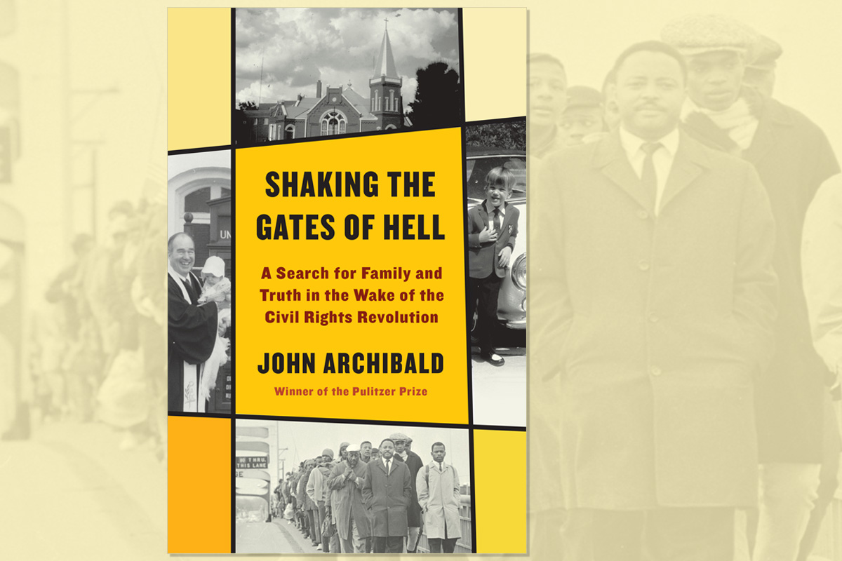 """Birmingham News columnist John Archibald has a book titled """"Shaking the Gates of Hell,"""" about his United Methodist father, who he thinks did too little to help during the civil rights movement. Photo courtesy of Alfred A. Knopf publishing company."""