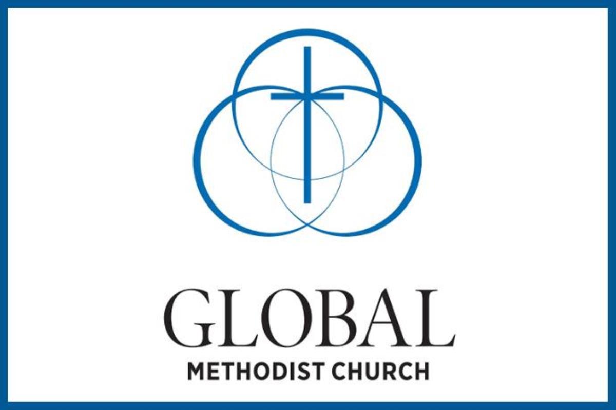 Un groupe de traditionalistes déterminé à quitter l'Église Méthodiste Unie a choisi « Église Méthodiste Mondiale » comme nom pour la congrégation qu'ils envisagent de former. Ils ont également dévoilé ce logo. Logo de l'Église Méthodiste Mondiale.