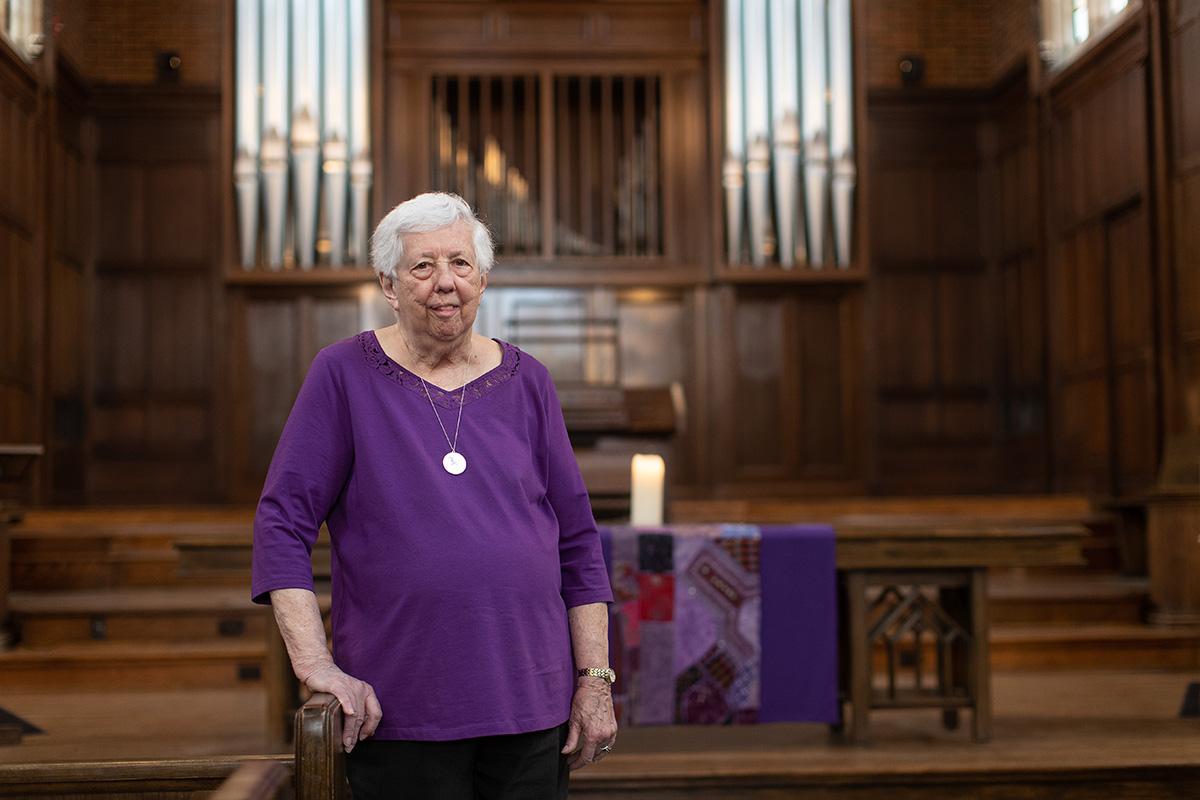 Joyce D. Sohl is laywoman-in-residence at Scarritt Bennett Center in Nashville, Tenn. Photo by Mike DuBose UM News.