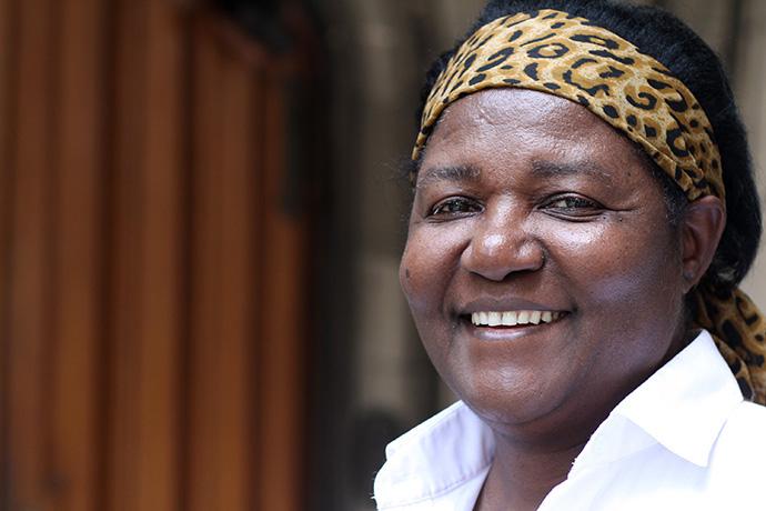 A Bispa Joaquina Filipe Nhanala foi a primeira mulher eleita para o episcopado Metodista Unido em África. Foto de arquivo de 2011 por Kathleen Barry, Noticias da MU.