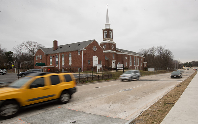 Fairlington United Methodist Church in Alexandria, Va., is a predominantly white congregation in the suburbs of Washington, D.C. Photo by Mike DuBose, UM News.
