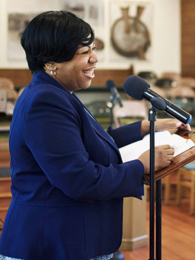 The Rev. Crystal DesVignes is pastor of CityWell United Methodist Church in Durham, N.C. File photo courtesy of CityWell United Methodist Church.
