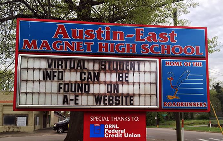 Un estudiante murió el pasado lunes 12 de abril en la propiedad de la Escuela Secundaria Austin-East Magnet, después de un tiroteo en el que resultó herido un oficial de policía en el este de Knoxville, Tennessee. Foto cortesía de la Conferencia Anual de Holston.