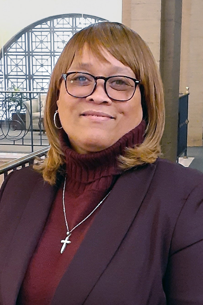 The Rev. Myra Maxwell, pastor of Trinity United Methodist Church in South Philadelphia, directs the district attorney's CARES program — Crisis Assistance, Response and Engagement for Survivors — that helps distressed families of homicide victims. Photo courtesy of the Eastern Pennsylvania Conference.