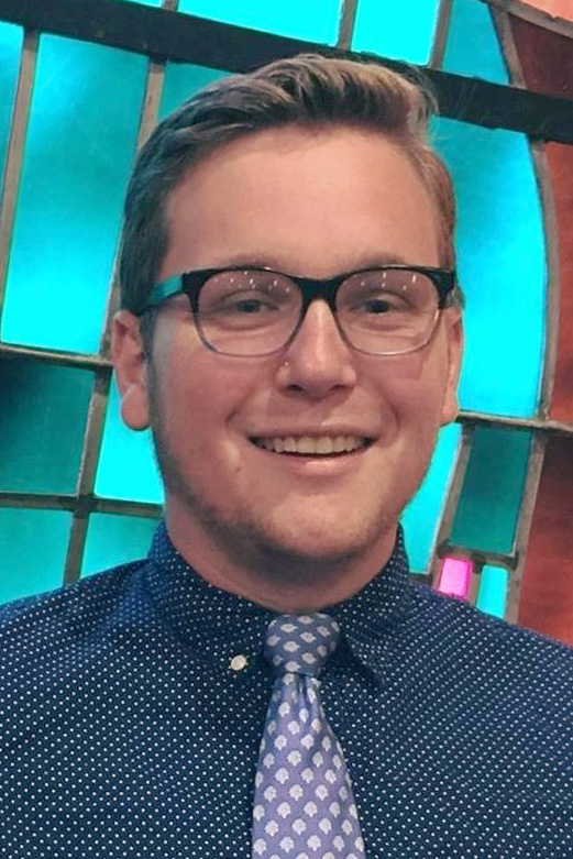 Chase Crickenberger. Photo courtesy of the author. Mr. Crickenberger's commentary appears in the Blogs and Commentaries section of Untied Methodist News.