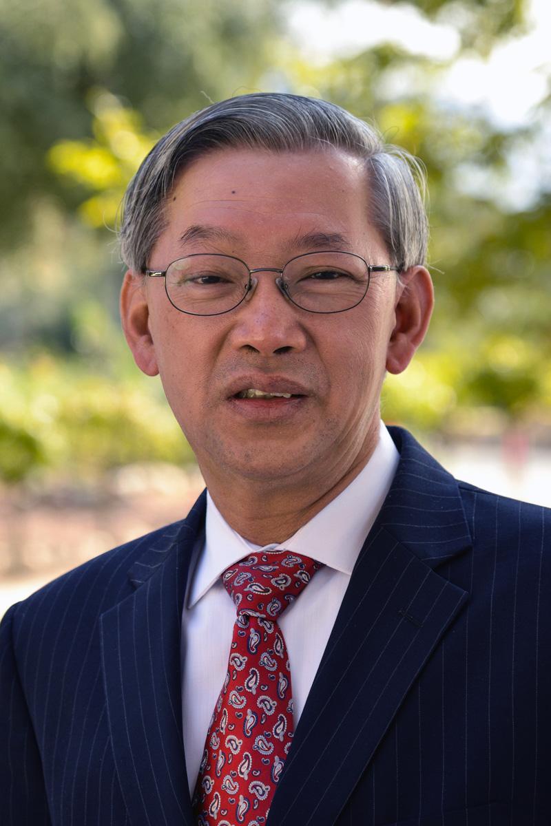 The Rev. Kah-Jin Jeffrey Kuan, president of Claremont School of Theology. Photo courtesy Claremont School of Theology.