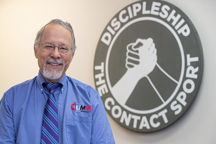 Gilbert C. Hanke's accomplishments as leader of United Methodist Men include gathering thousands of men who participate in regular virtual meetings, a domestic violence curriculum and an emphasis on Scouting. Photo by Mike DuBose, UM News.