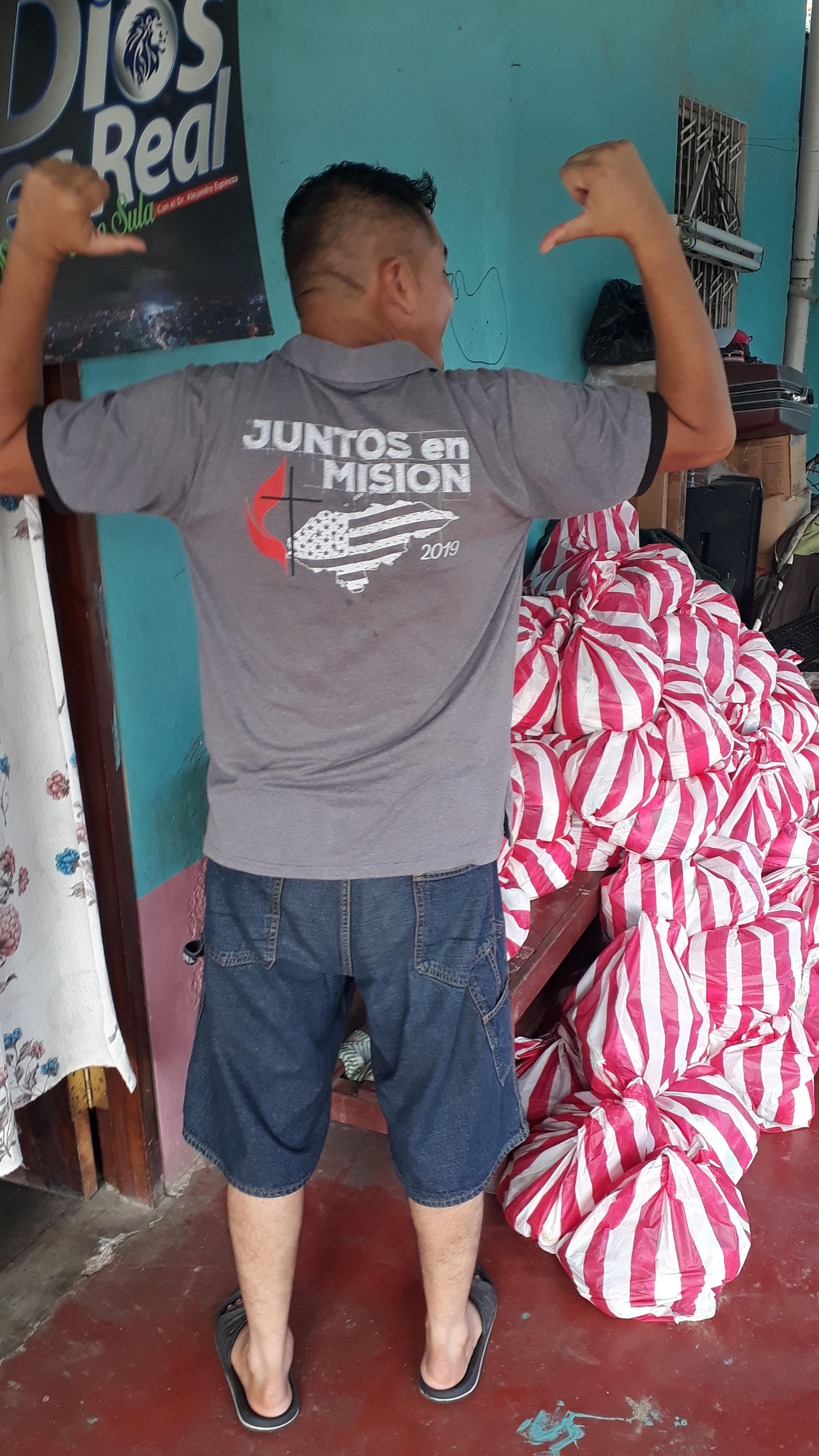 Varias iglesias metodistas esperan el fin de la pandemia para viajar a Honduras y seguir apoyando la labor ministerial de CAMINO. Foto cortesía de la familia Somerville.