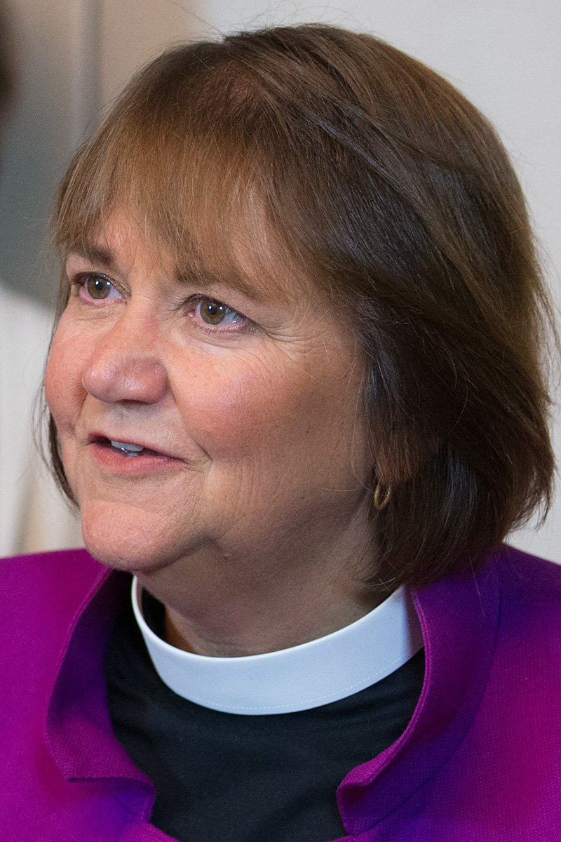 Bishop Karen Oliveto. Photo by Mike DuBose, UM News.