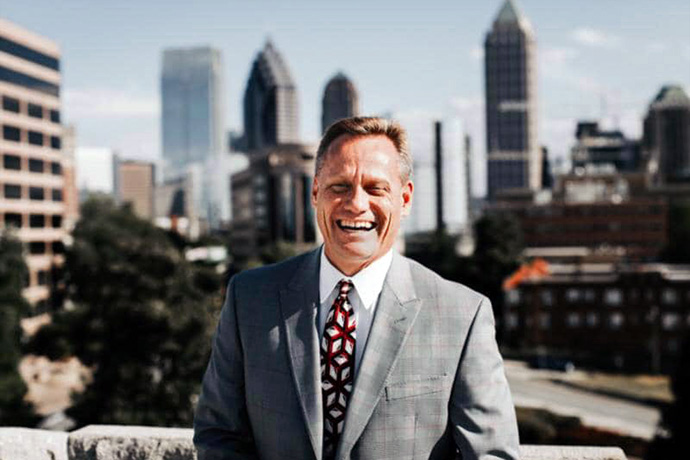 The Rev. Steven Usry is the newly appointed senior pastor of Mt. Bethel United Methodist Church, but church leaders have limited his compensation and role.  Photo courtesy of the North Georgia Conference.
