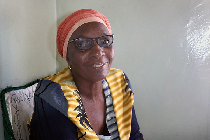 Dorcas Muranda, a member of St. Paul United Methodist Church in Harare, Zimbabwe, said that despite challenges, God has helped her succeed in accepting a call to music ministry. She released her first gospel album at age 74. Photo by Priscilla Muzerengwa, UM News.