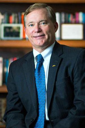 Scott Miller, president of Virginia Wesleyan University.  Photo courtesy of Virginia Wesleyan University.