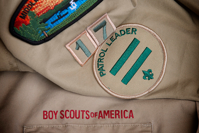 As of 2020, United Methodist churches chartered more than 9,000 scouting units, serving some 300,000 youth. That number has declined as the pandemic has affected churches and as BSA membership has dropped. Photo by Mike DuBose, UM News.