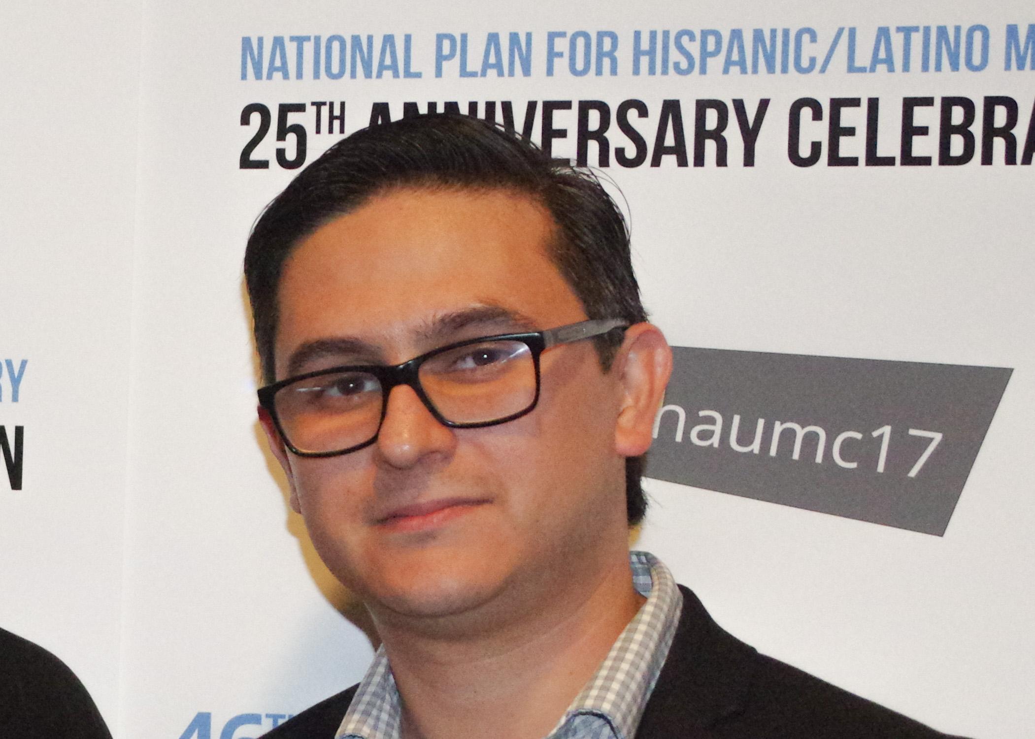Manuel Padilla aceptó su función actual como director nacional interino durante dos años después de servir como misionero de la Junta General de Ministerios Globales (GBGM) de la Iglesia Metodista Unida desde 2013. Foto Rev. Gustavo Vasquez, Noticias MU.