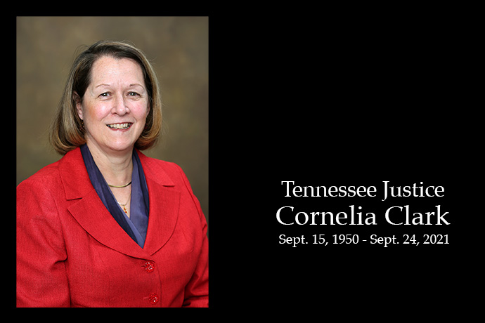 """Tennessee Supreme Court Justice Cornelia """"Connie"""" Clark, board chair of the United Methodist Publishing House, died Sept. 24. She was 71. Photo by Ron Benedict, UMPH."""