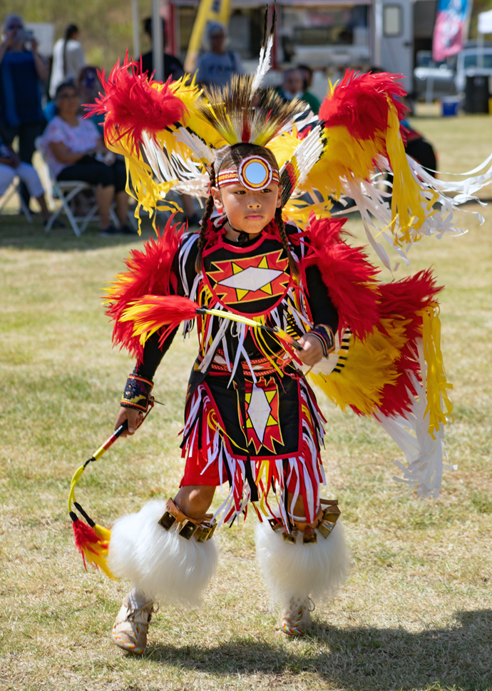 A Native American child performs Sept. 19 during kickoff celebrations at the First Americans Museum in Oklahoma City. The grand opening was Sept. 18-19. Photo courtesy of First Americans Museum.