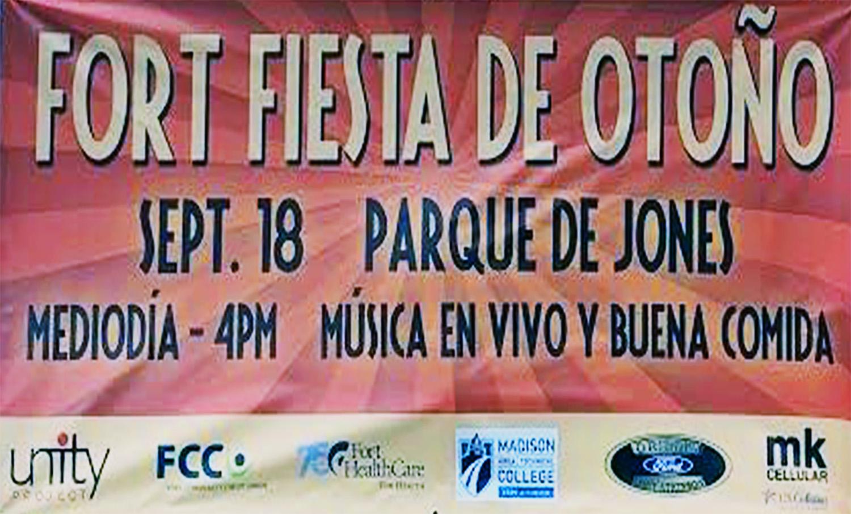 La congregación hispana de la Primera Iglesia Metodista unida de Fort Atkins contribuyo activamente con este festival. Foto cortesía de FortAtkinsonOnline.com.