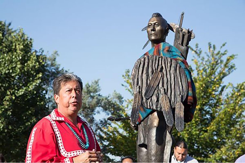 Rev. Dr. David M. Wilson, superintendente de la Conferencia Misionera Indígena de Oklahoma. Foto cortesía de la Junta General de Iglesia y Sociedad (GBCS).
